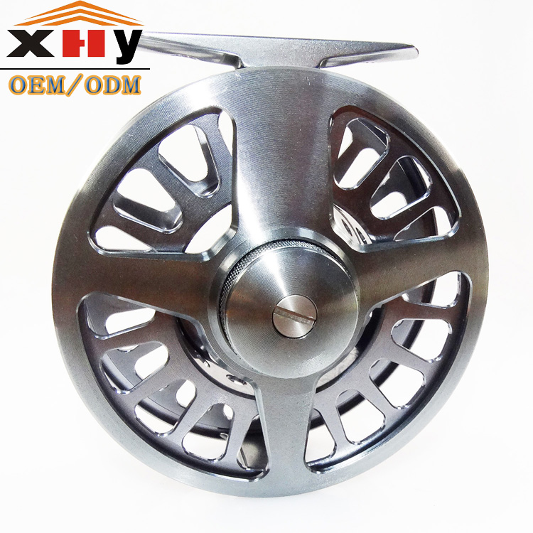 Chinese Classic CNC Fly Fishing Reel 9/10wt Mid Arbor 6061-T6 Aluminum Large Arbor Fly Reel Made In China