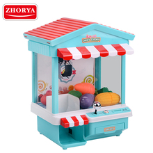 Zhorya vending game mini candy grabber machine toy for sale