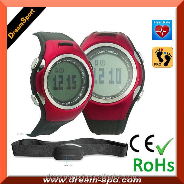 Hot sale multifunctional we de sport watches low price pedometer heart rate monitor