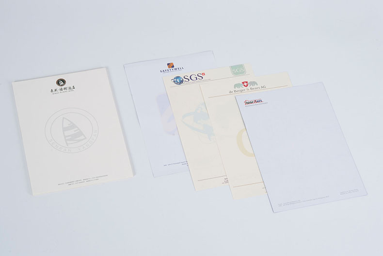 Custom Letter Paper 4 Color Offset Printing