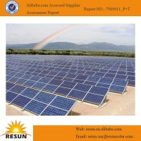 High efficiency TUV crystalline silicon solar module