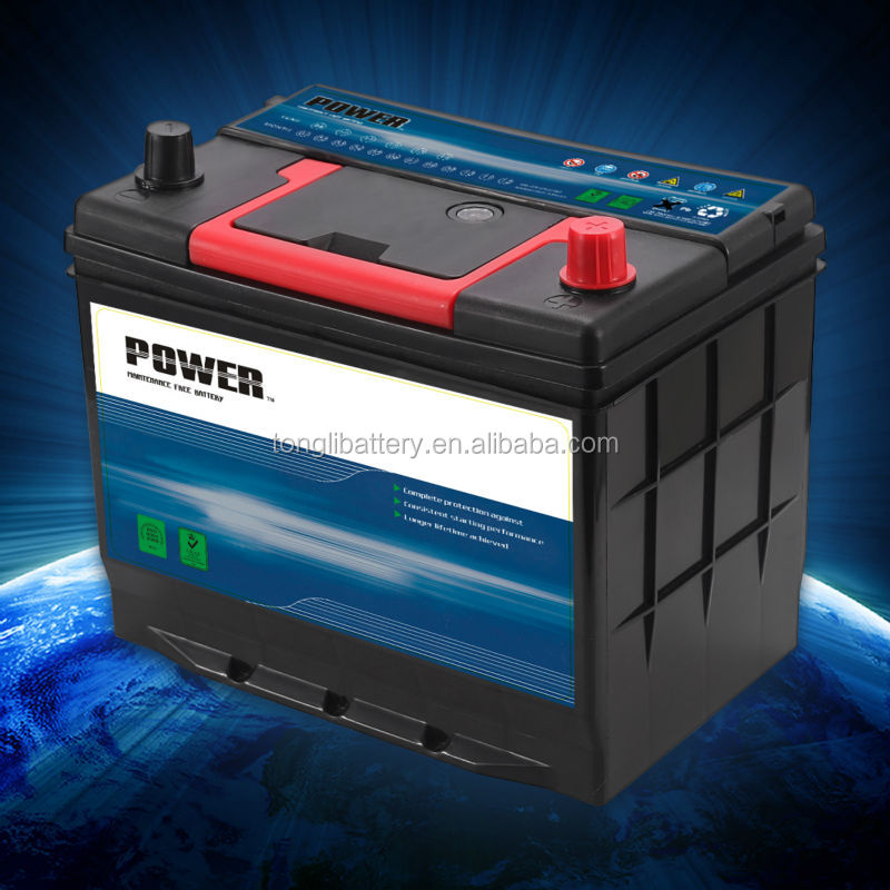 battery charger 12v battery car price lead acid battery 55D26R 60ah
