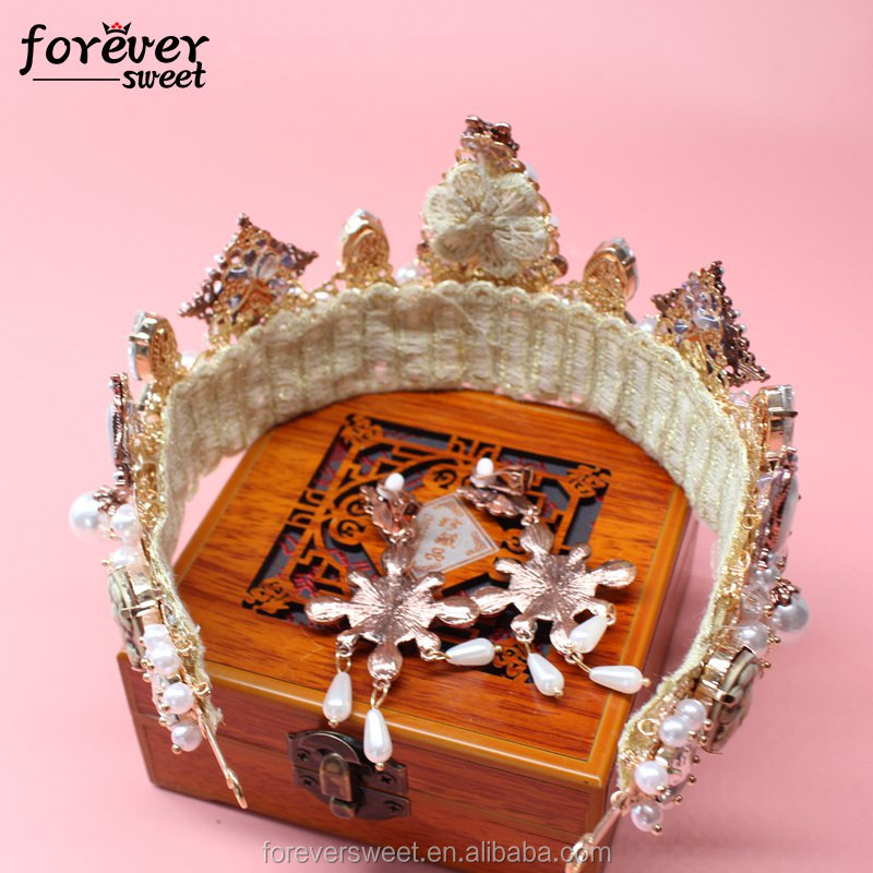 factory outlet sweet wedding hair comb crown for bride in india tiara online prom tiara