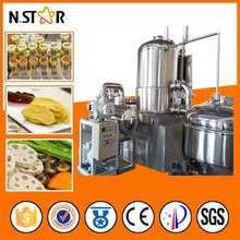 Industrial vacuum frying machine for onion potato chips