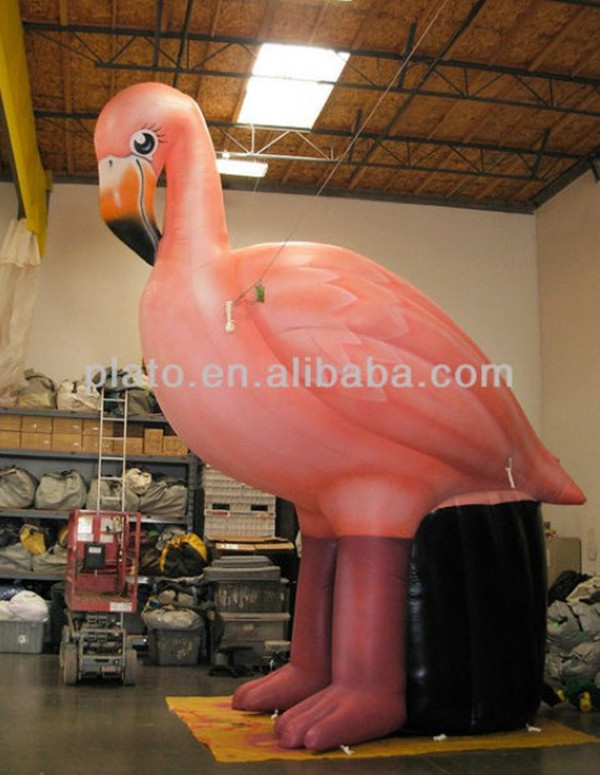 Hot sale Giant inflatable model,inflatable cartoon,inflatable flamingo