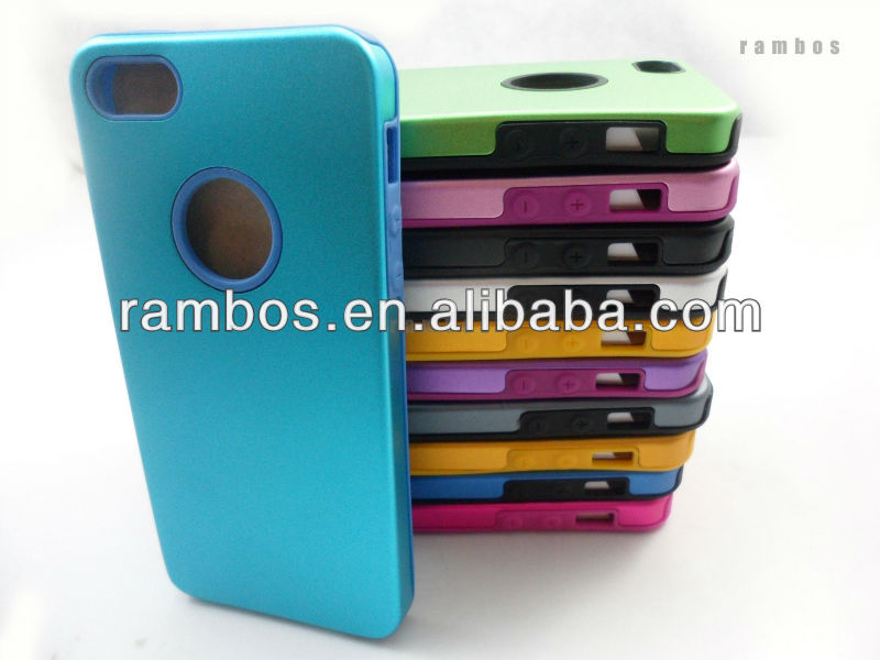 Mobile phone aluminum back cover case for Apple iPhone 5 5G