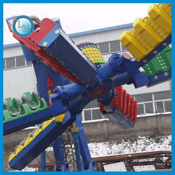 China manufacturing outdoor adult games rides! Amusement park thrill equipment speed windmill for sale