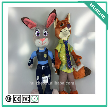2016 Hit Movie Zootopia Toys Figures