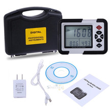 Newest distance meter laser digital wall mount co2 monitor meat thermometer with data logger