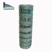 galvanized farm fencing/game fence/Fixed Knot Woven Wire Cattle Fencing(factory)