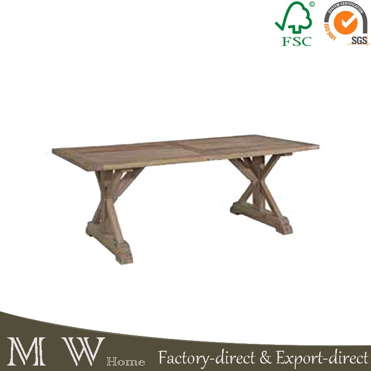 Dining Room Furniture Elm Wood Dining Table