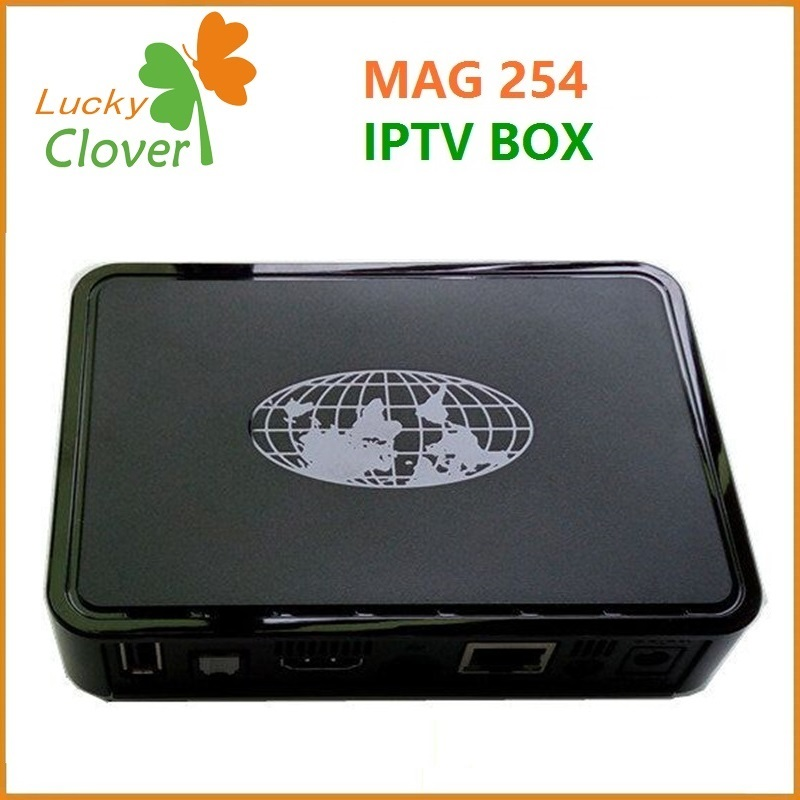 New Multimedia Player MAG254 Linux System Internet TV Box IPTV Box MAG 254