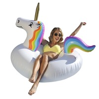 Inflatable Pool Float Giant Inflatable Unicorn
