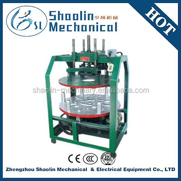High efficiency tea rubbing machine with low damage rate