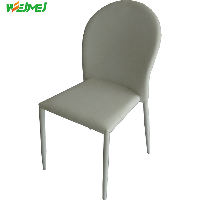 metal frame cover with PU leather modern china 2017 chairs