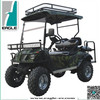 Lifted golf cart, electric hunting cart, sport utility vehicle,4 seats with foldable seat