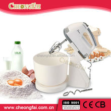 Sugar and Egg Hand Mixer with bowl