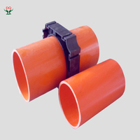 "Cheap 4"" square pvc pipe fittings names for protect the cable"