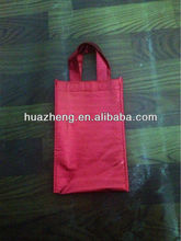 high quality printed &red pp non woven gift bag