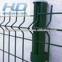 wire mesh fence, curved fence panel