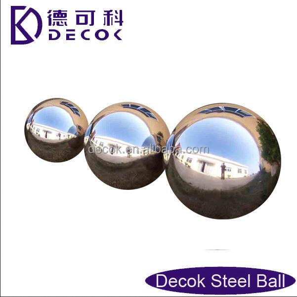 large christmas ornament metal hollow stainless steel chrome mirror nail polis ball
