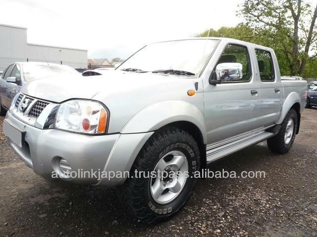 2004-Nissan Navara 2.5 DOUBLE CAB PICK UP 4WD [Silver]-20295SL