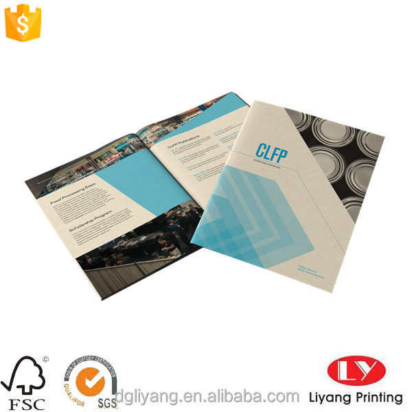 Full color brochure printing design product promotion