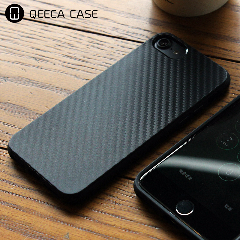 2017 New Design Carbon Fiber Back Cover For iPhone 5 Case TPU IN STOCK