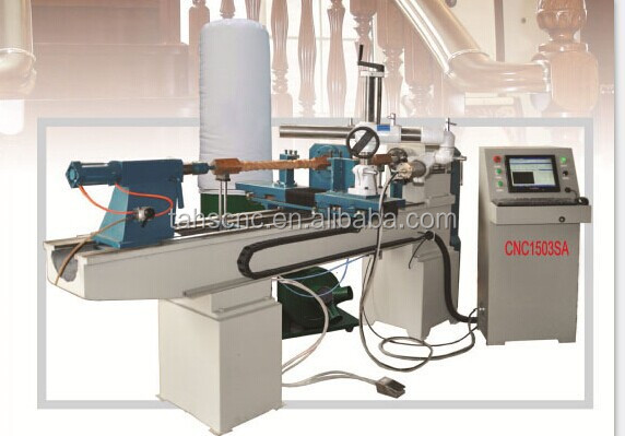 High precision and low price CNC1503SA Woodworking Use wood lathe