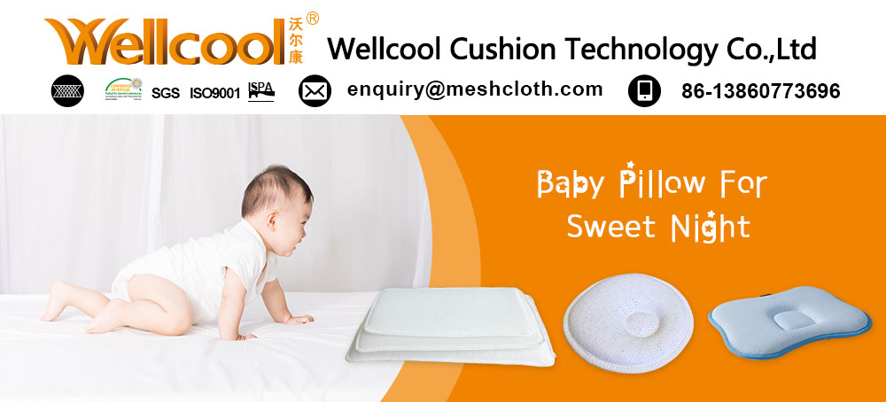 Chinese manufacture baby flat head kids pillow