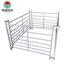 Hot sale hot dipped galvanized railing metal gate grassland fence - livestock corral sheep panels