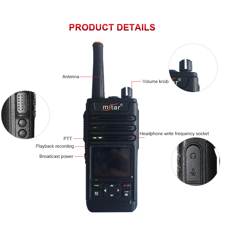Portable radio handheld type switching fm transmitter gps positioning talk long range portable walkie talkie