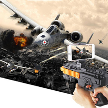 New Bluetooth Virtual AR Toy Gun Smartphone Plastic Augmented Reality Shooting Game Handle Gun