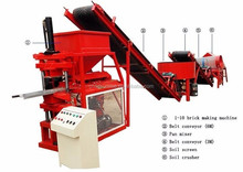 SR1-10 soil brick making machine in india