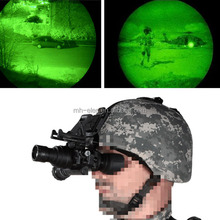 ACH/MICH helmets mounted night vision goggles for military