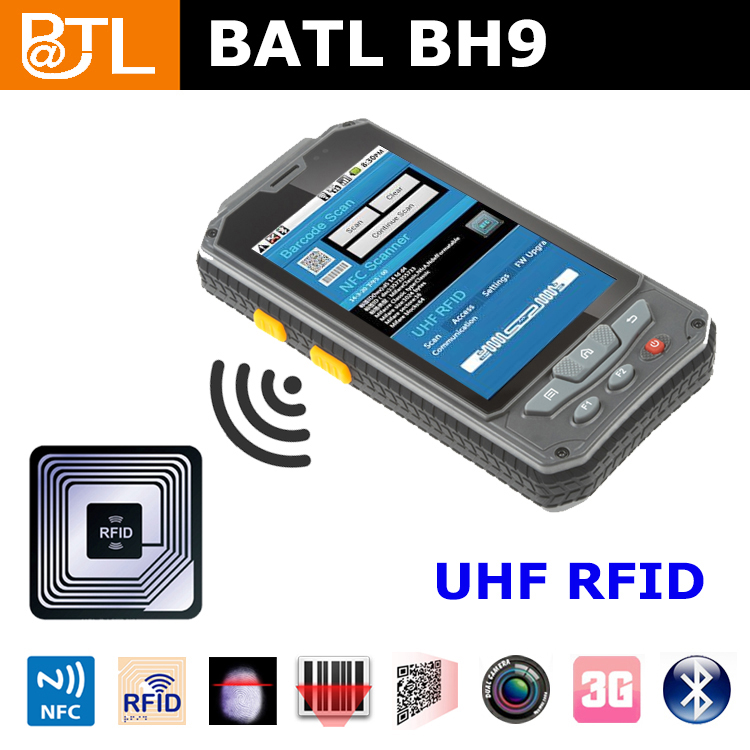 BATL BH9 rfid rugged pda 4000mah battery 5mp camera waterproof ip68 nfc tablet