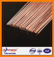 Famouse Brand Good conductivity copper brazing rods