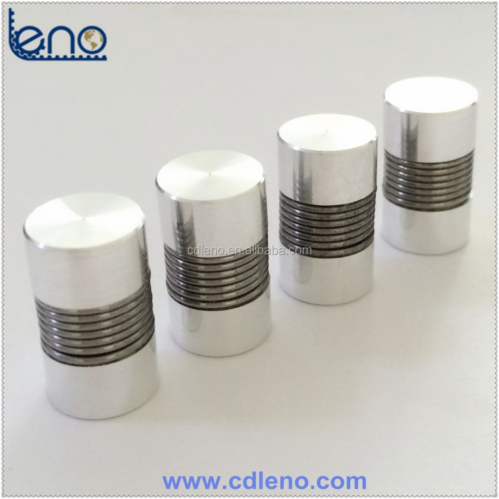 Flexible Spring Encoder Coupling
