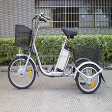 best adult assist electric tricycle for sale 36V10AH city rseb-704Z