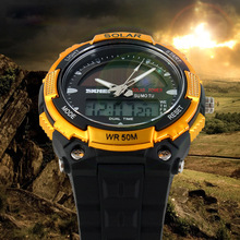 Wholesale china products Big Face solar digital electronic waterproof watch