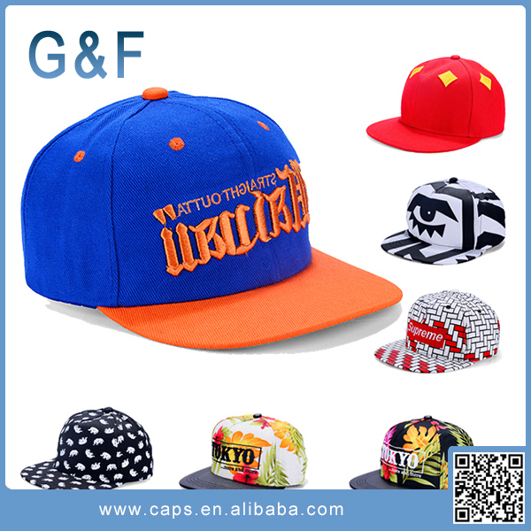 Fashion Design Embroidery Plain Snapback Hats For Sale