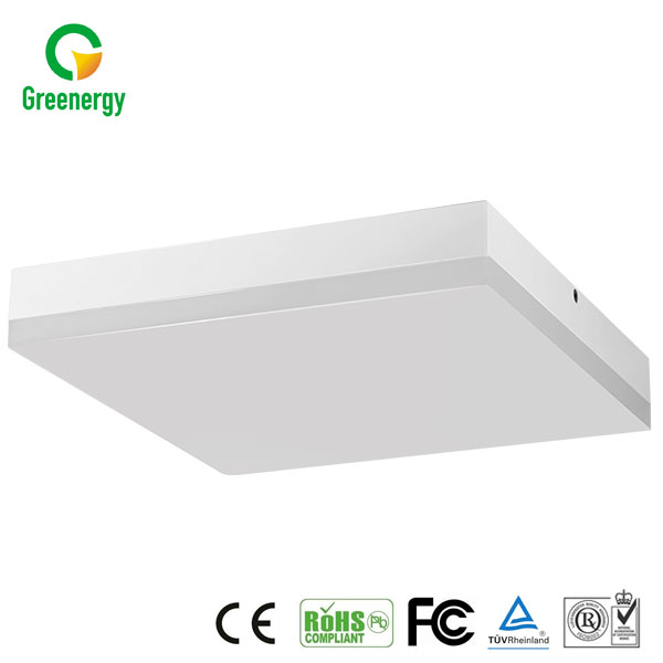 Environmental protection material dimmable white led suspended ceiling light panel