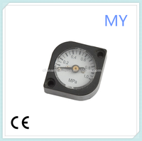 17mm mini pressure gauge clip-on oxygen cylinder