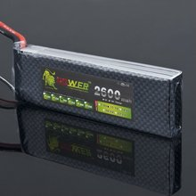 LION ge power lipo battery 11.1V 2600MAH 30C LiPo RC Battery for trex 450