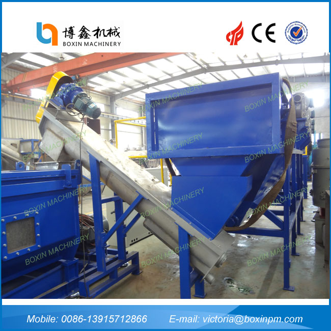 Plastic plastic recycling and reprocessing made in China