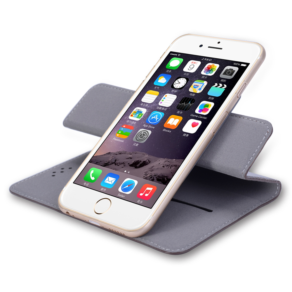 360 Degree Rotation Universal Smart Phone Case for 4.5 5 5.5 Inch