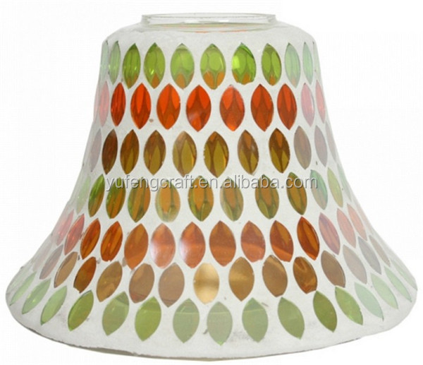colored mosaic lamp shades