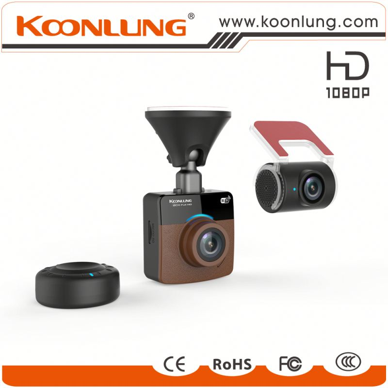 oem and odm available car dvr manufacture dual car dvr with wifi and no screen mini dashcam