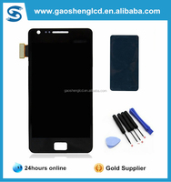 For Samsung S2 i9100 lcd display digitizer galaxy s2 i9100 lcd with touch