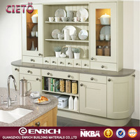 Enrich company manufacture high quality mdf kitchen cabinet